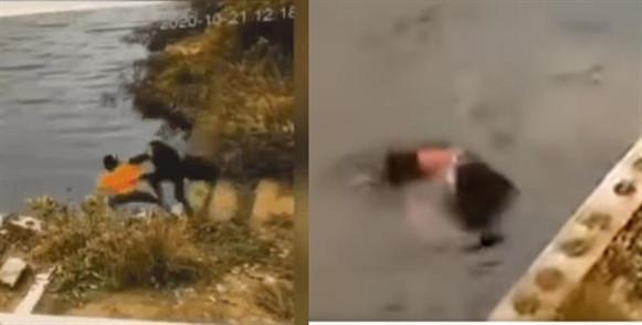 警方回应女子被同伴推入水库 推人者曾患抑郁症