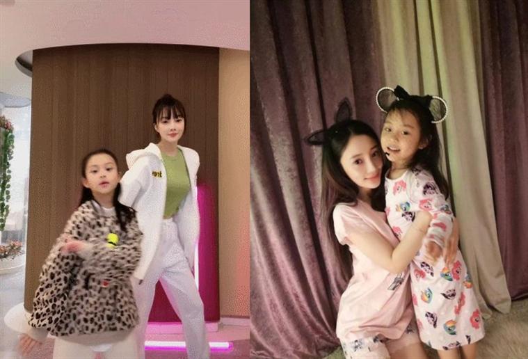 李小璐带女儿跳舞 母女两舞姿唯美气质超好