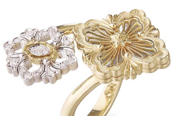 Buccellati新一季的珠宝 彩色珐琅与宝石的碰撞