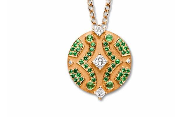 Nouvel Heritage新系列珠宝 建筑系列的珠宝