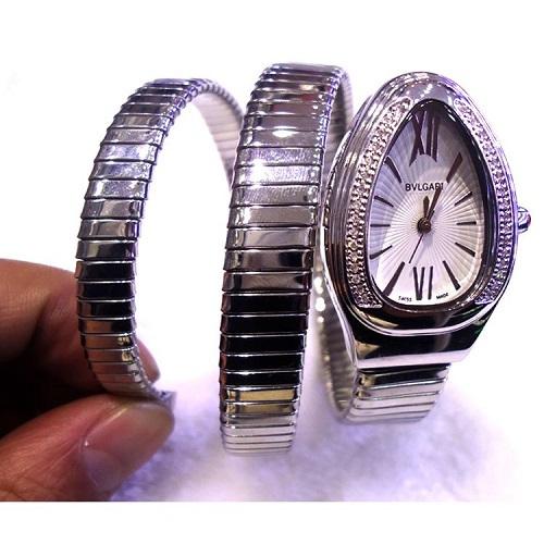 宝格丽蛇形手表多少钱  宝格丽黄金蛇形手镯手表介绍